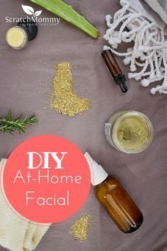 "6 Steps to a DIY At-Home Facial for when that ""me time"" pops up!"