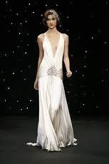 Art Deco - Hollywood Glamor - Great Gatsby Wedding Gown