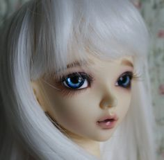BJD eyes available in 12/14/16/18/20/22/24mm Blue Monday  made to order