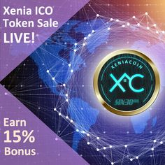 XENIA TOKEN SALE – INVEST NOW TO GET 15% ON YOUR XENIA TOKENS- There is a latest model, abuzz in the cryptocurrency market and it's based on Tokens: a very scarce digital asset, designed on blockchain technology and more interestingly, they do have collective market value of billions. Crypto Mining, Equal Opportunity, Market Value, Blockchain Technology, Cryptocurrency, Investing, How To Get, Marketing, Digital