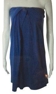 Velvet short dress on Tradesy