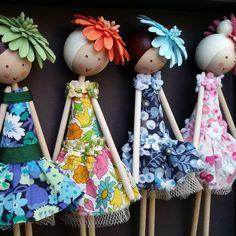 Flower Fairies by Justsosara #Justsosara #Fairy #Dolls #Flowerfairies #Flowergirls #Weddings #Weddingideas #Bride #Bridesmaids #Flowergirls #Dresses #Fashion #Hats #Libertyoflondon #Libertylondon #Sisters #Girls #Kidsdecor #Children #Etsygifts #Etsy #Etsyuk #Caketoppers #Rainbow #Blue #Orange #Pink #Green #Pretty #Happy #Handmadegifts