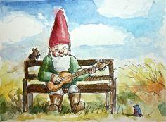 Let's Jam! Mr. Bluebird, sing along!  JollyGnome.com
