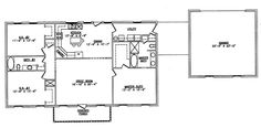 Steel Frame House Plans   The LTH014   LTH Steel Structures