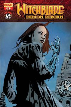 Cover for Witchblade: Demon Reborn (Dynamite Entertainment, 2012 series) Detective, Comic Book Covers, Comic Books, Anne Bonny, Jae Lee, Top Cow, Cover Art, Entertaining, Comics