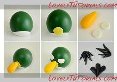 "МК лепка ""Angry Birds"" -Angry Birds making tutorials - Мастер-классы по украшению тортов Cake Decorating Tutorials (How To's) Tortas Paso a Paso"
