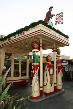 Antique Gas Station by prayitno, via Flickr