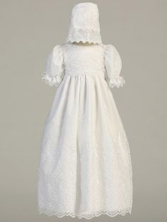 62791dcbc 34 Best Audrey's Baptism images | Baptism dress, Baptism gown ...
