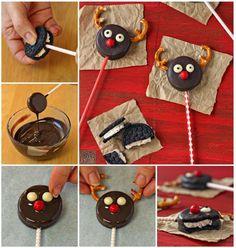 Fit und Gesund: Oreo-Rentier-Kekse!