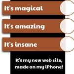 Create web page on your iPhone. Egg App, Iphone, Create