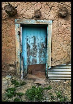 """In the universe, there are things that are known, and things that are unknown, and in between, there are doors."" ~ William Blake (Photo: Taos, NM)"