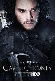 Game of Thrones---Winter is coming!! Jon Snow