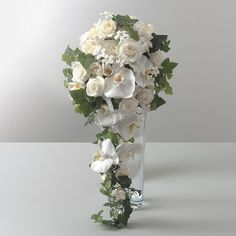 rose cascading bouquet - Google Search