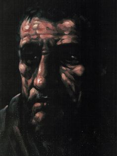 Study for Saint Andrew, Peter Howson Peter Howson, Portrait Ideas, Portraits, The Darkest, Anatomy, January, Faces, Study, Inspire