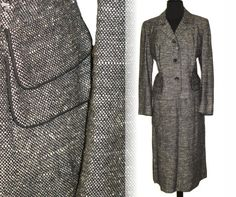 1940s Suit Tailored Couture Forstmann Mad Men by vintagediva60, $165.00