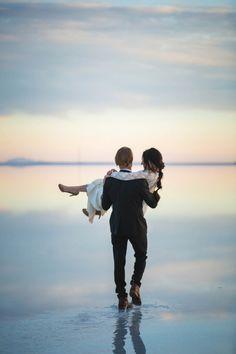 Epic Salt Lake City Wedding Shoot