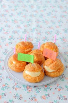 「朝ドラまれの「節約・シュークリーム」のおうちアレンジ」あいりおー | お菓子・パンのレシピや作り方【corecle*コレクル】
