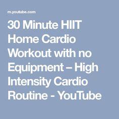 Elegant 30 Minute at Home Cardio