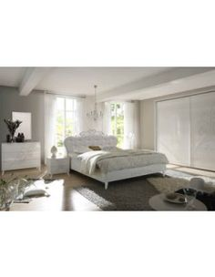 chambre adulte compl te contemporaine audrey coloris ch ne blanc couchage 140 x 190 cm armoire. Black Bedroom Furniture Sets. Home Design Ideas