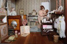 Jean Day Miniature Girls Bedroom 150x150 Jean Days Miniatures