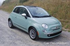 2012 Fiat 500 Lounge - my new baby