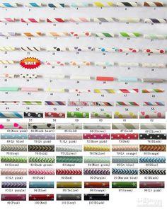 Wholesale Paper Straws - Buy Party Paper Straws Mixed Stripe Chevron Patterns Polka Dots Stars Party Paper Straws $0.05   DHgate