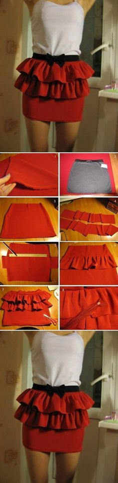 DIY Easy Skirt Modification DIY Projects