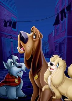Lady and the Tramp Key art