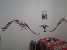 Ilustração que meu amigo e artista plástico Jerry Batista criou para meu novo quarto! :)