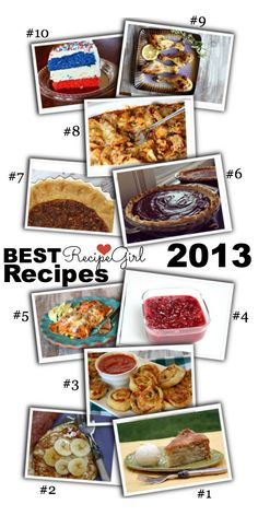Best Recipes from http://RecipeGirl.com 2013