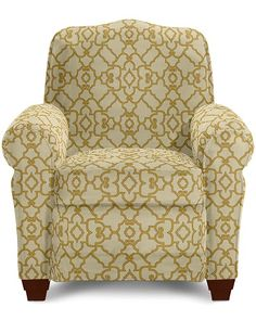 Lazy Boy Recliner Faris Model In Magnolia Fabric For