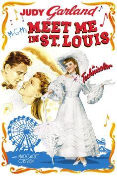 Meet Me In St. Louis Poster Artwork - Judy Garland, Margaret O