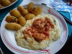 Tekvicový prívarok s mäsom a zemiakmi (fotorecept)