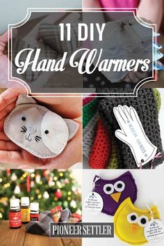 The BEST Do it Yourself Gifts – Fun, Clever and Unique DIY Craft Projects and Ideas for Christmas, Birthdays, Thank You or Any Occasion 11 DIY Hand Warmers to Make Yourself - what fun and useful gifts for winter and Christmas time! Diy Gifts To Sell, Diy Crafts For Gifts, Useful Gifts, Jw Gifts, Special Gifts, Diy Craft Projects, Craft Ideas, Fun Ideas, Sewing Projects