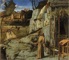 File:Giovanni Bellini - Saint Francis in the Desert -
