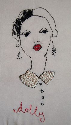 Would love to add this to my #qults.  She has my red lips.
