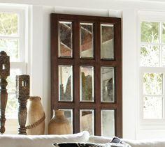 Paned Door Mirror | Pottery Barn