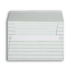 Lined School Paper Envelopes Cute Kawaii Style Lined paper Style Not My Sugar Bits Owned