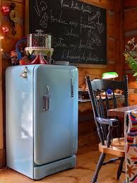 retro fridge...