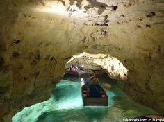 Cave-lake, Tapolca, Hungary - I was here, and I really like! Mountain Waterfall, Heart Of Europe, Budapest Hungary, Natural Wonders, Trip Planning, Places To See, The Good Place, Tourism, Around The Worlds