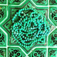 Turquoise on turquoise . #Positano #aureliebidermann