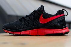 Nike Free Trainer 5.0 | Black & Light Crimson
