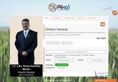L.C. y M.I. Álvaro González Murillo Director General en AKA1 Y ASOCIADOS