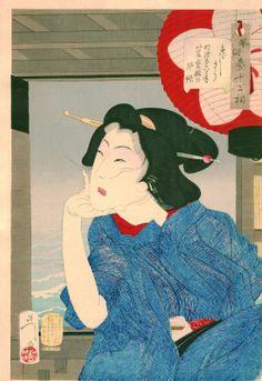 UKIYO - E.......1888.....BY YOSHITOSHI TSUKIOKA....1839..1892....BING IMAGES....