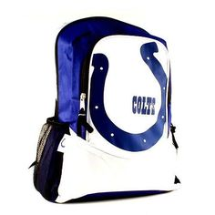 ONE INDIANAPOLIS COLTS, OFFICALLY LICENSED,  HYPE STYLE BACKPACK #IndianapolisColts