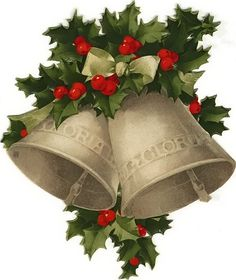 christmas bells clipart