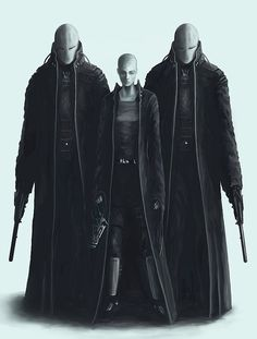 Cyberpunk - bodyguards