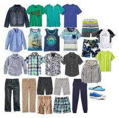 Boy's Spring-Summer Capsule Wardrobe 2016