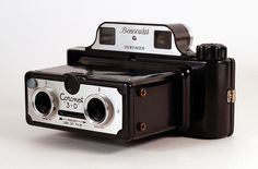 Coronet 3D stereo #camera #vintage