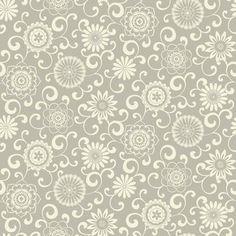 "York Wallcoverings Waverly Small Prints Pom Pom Play 33' x 20.5"" Botanical Wallpaper"